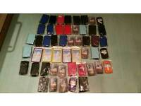 X50 Joblot of phone cases.can post if payment made through PayPal. Extra £2.85 to post