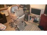 Silver cross 3in1 pram/buggy/crib/car seat