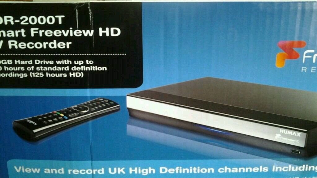 HUMAX 2000T 🆓 VIEW TV RECORDER-BRAND NEW