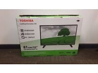 TOSHIBA 32 INCH LED HD TV BRAND NEW & BOXED
