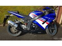 WK Sport '2016' 125cc motorbike. Price reduced.