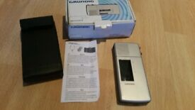 Collectible Vintage GRUNDIG SH 23 STENORETTE Dictaphone