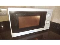 White Cookworks Microwave, full working order