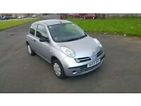 2005 Nissan Micra 1.2 E 3 Door Manual Petrol - MOT May 2017 - Part Service History - Only 4 Owners