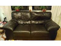 FREE!!!! 2 Real leather sofas