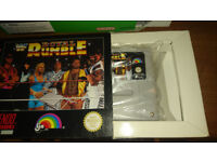 WWF Royal Rumble Snes Game Retro Collectors Item - For Super Nintendo