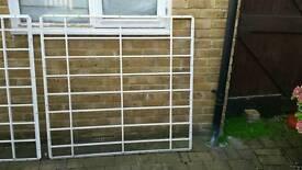 Window metal security grills