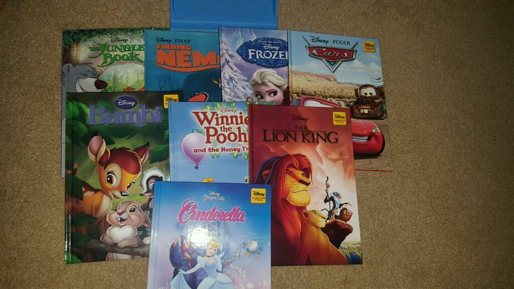 8 Disney books for salein Middlesbrough, North YorkshireGumtree - 8 Disney books for sale, brand new and comes with a mickey mouse stand