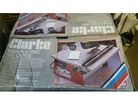 500W 33mm clarke electric tile cutter