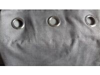 Grey Eylet Curtains (From Next)