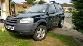 2002 land rover freelander td4 diesel 1 owner from new *12 month mot*