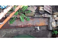 Rusty Steel plates
