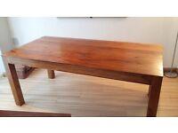 Large Mango Wood Dinning Table