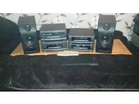 Technics Full Audio Setup Separates