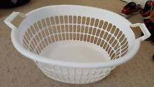 Used white clothes washing basket - excellent condition - $5 Ashfield Ashfield Area Preview