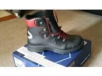 Haix work boots size 14