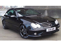 2006 06 MERCEDES CLK 320 CDI SPORT COUPE AMG 7 SPD AUTO DIESEL FSH MOT 03/18(CHEAP PART EX WELCOME)