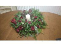 10 x glass hurricane candle vases wedding centerpieces