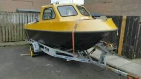 Mariner 19ft foshing boat