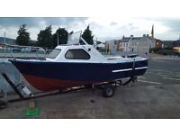 17ft crusier. Fishing boat