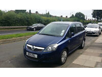ONO 2011 Vauxhall Zafira 7 Seater 1.6 litre Petrol 5dr Excellent For Uber Private Cab Mini Cab Taxi