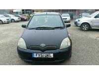 Toyota Yaris 1.3 SR Mot April 140k Verified Miles Drives like new