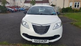White Chrysler Ypsilon S 1.2 5 dr