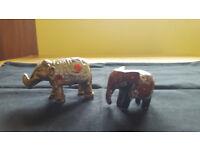 2 adorable little elephants. £1 for both