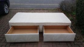 Single Sealy Divan bed Base.