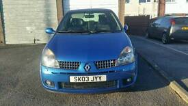 Clio T sport 172 cup.