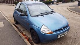 Ford KA For Sale due to no longer needing an extra car. Great first car or small town run around.