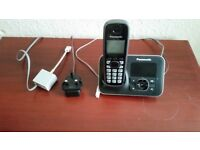 Panasonic KX-TG6621E / KX-TGA660E Cordless Digital Telephone/Phone Answerphone - Very Good Condition