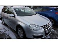 2008 VW GOLF ESTATE 1.9 TDI DIESEL AUTOMATIC ONLY 56K MILES GREAT CONDITION