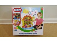 CHILD KIDS TOY LITTLE TYKES ACTIVITY GARDEN PLANT 'N' PLAY FOR 12 TO 36 MONTH OLDS
