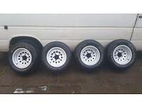 very nice alloy wheels 5x139.7 suzuki samurai jimny vitara daihatsu feroza rocky