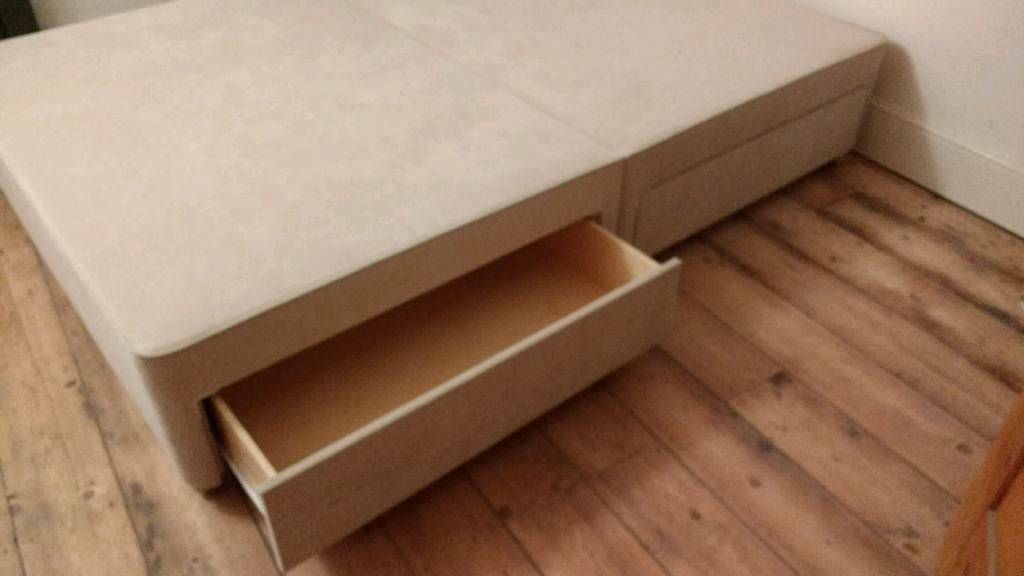 John Lewis double, 4 drawers divan base