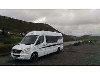 Mercedes benz sprinter 311 Racevan / Sporthome / campervan / day van