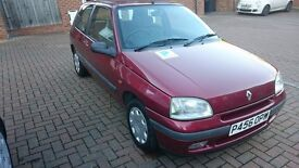 Renault Clio RT 1.4 mk1 Classic 96' automatic, only 46.704 mileage!!!