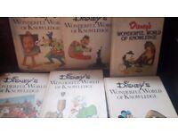Disney reading knowledgr books.