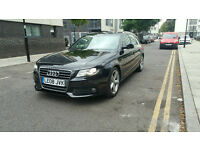 AUDI A4 AVANT 2.0 TDI SPECIAL EDITION S LINE LEFT HAND DRIVE UK PLATE LOW MILEAGE