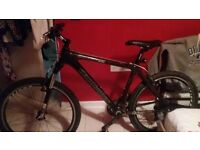 Claude butler cape wrath carbon fibre mountain bike 2016 model