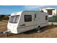 Bailey Pageant Caravan situated on the Costa Blanca Spain