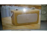 Bush classic boxed digital radio