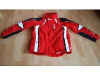 Ski Jacket Age 12 143/152cm in Red and very good condition