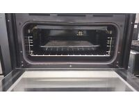 AEG D4100 DOUBLE OVEN IN WHITE