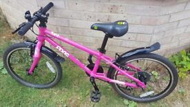 *******SOLD**********FROG BIKE 52 in pink very good condition only 1 year old!! - Vivid Pink!