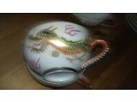 Dragon Stlye. Vintage Japanese Crockery Tea/Coffee Set