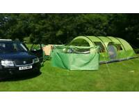 6 man or family tent