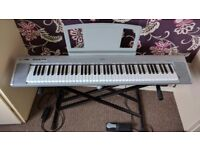 YAMAHA NP30 electric piano plus stand and pedals