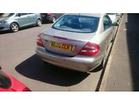 Mercedes CLK320 AVANTGARDE, auto excellent condition, plate worth £700!!!!!!